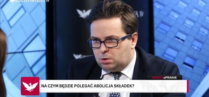 Dr Marcin Wojewódka gościem programu Anny Wojdy #RZECZoPRAWIE