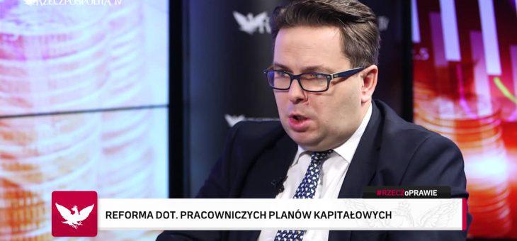 Dr Marcin Wojewódka gościem programu Mateusza Rzemka #RZECZoPRAWIE