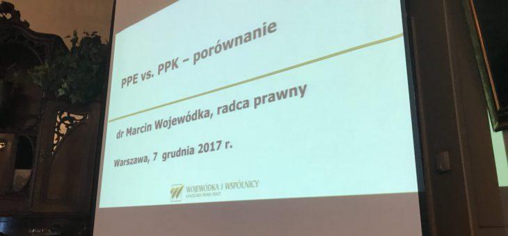 Dr Marcin Wojewódka prelegentem na Konferencji Business Centre Club dotyczącej Pracowniczych Planów Kapitałowych