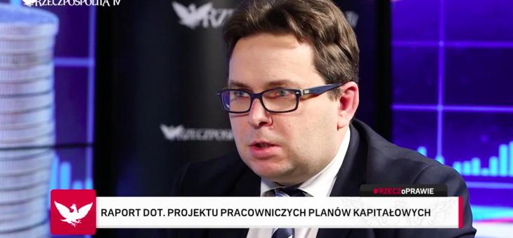 Dr Marcin Wojewódka gościem programu Mateusza Rzemka #RZECZoPRAWIE w Rzeczpospolita TV