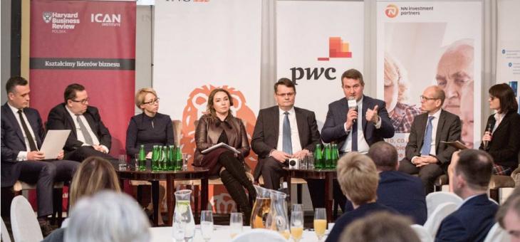 """Zmiana zasad gry – debata ICAN Institute, magazynu """"Harvard Business Review Polska"""" oraz ING Bank Śląski"""