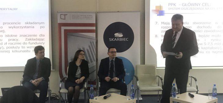 Eksperci Instytutu Emerytalnego panelistami podczas Seminarium IBRKiK PIB