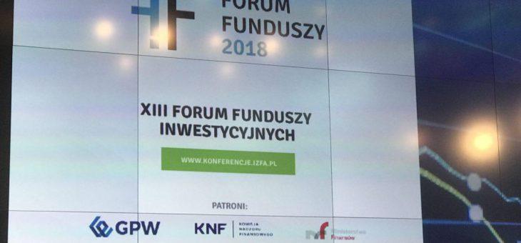 Eksperci Instytutu Emerytalnego uczestnikami XIII FORUM FUNDUSZY INWESTYCYJNYCH