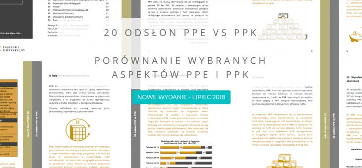 20 odsłon PPE vs PPK – nowe wydanie broszury