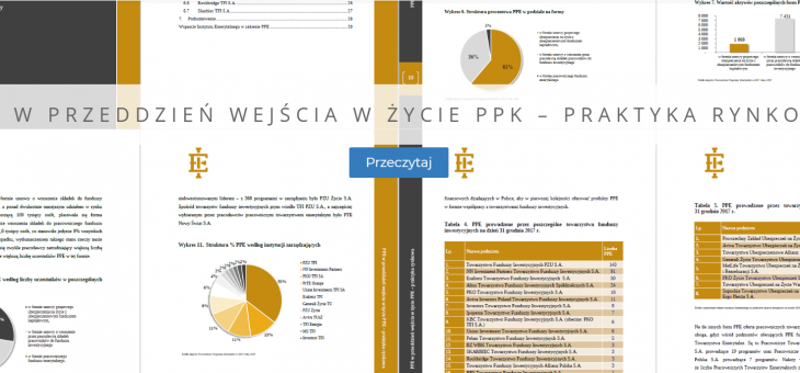 PPE w przeddzień wejścia w życie PPK – praktyka rynkowa. Raport ekspertów.