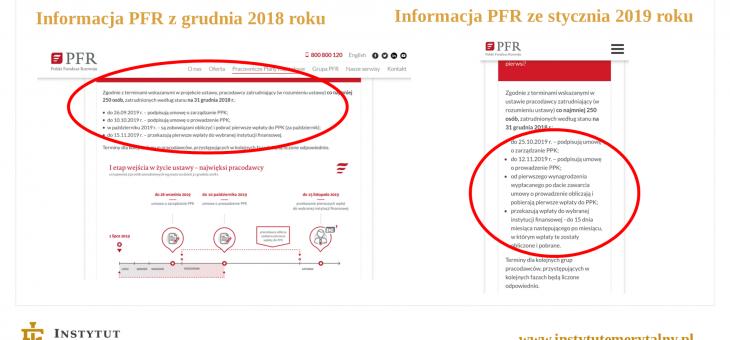 Portal PPK – wpadka na samym starcie czy powrót do przyszłości? – dr Marcin Wojewódka
