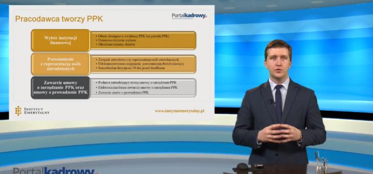 Szkolenie wideo: Jak wprowadzić PPK w firmie? Poznaj obowiązki związane z tworzeniem pracowniczego planu kapitałowego – dr Antoni Kolek