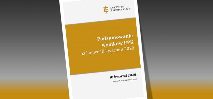 Podsumowanie wyników PPK na koniec III kwartału 2020